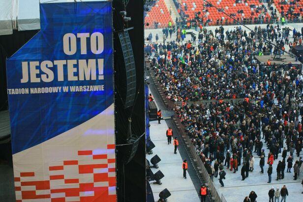 Zdjęcie archiwalne, z dnia otwartego na Narodowym iust/Kontakt 24