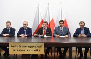 Komisja uchyliła dwie decyzje władz Warszawy