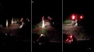 Pies podwieszony za szyję do traktora. Policja zatrzymała kierowcę