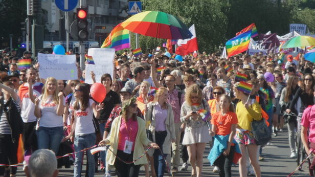 Parada Równości Tomasz Zieliński / Tvnwarszawa.pl