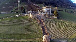Potężny głaz przeorał włoskie gospodarstwo
