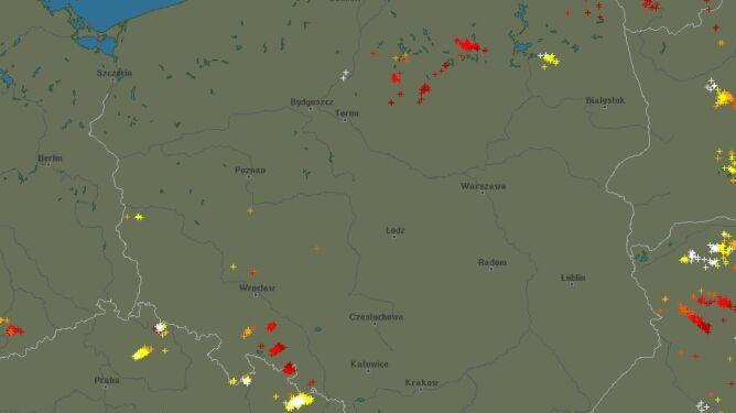 Grzmi w kilku regionach Polski. Sprawdź, gdzie jest burza