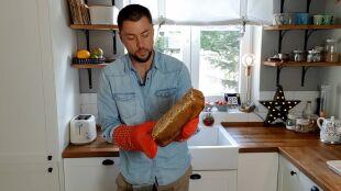 Maciej Dolega poleca sprawdzony przepis na chleb żytni na zakwasie