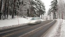 Uważaj na śliskie drogi