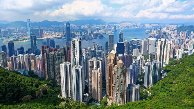 Superwulkan pod Hongkongiem