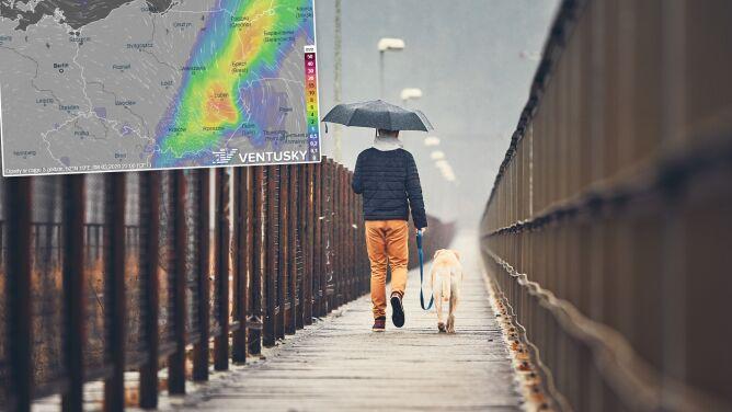 Pogoda na pięć dni: wiele deszczowych miejsc, ale nawet 12 stopni
