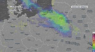 Prognozowane opady w ciągu najbliższych dni (Ventusky.com | wideo bez dźwięku))
